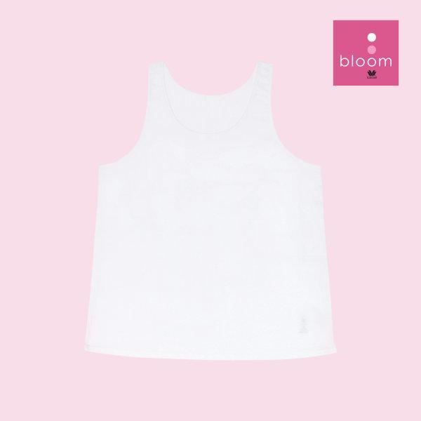 Wacoal Bloom Step 1 รุ่น WH6Q50 เสื้อกล้ามตัวยาว แบบเรียบ สีชมพู (PI)
