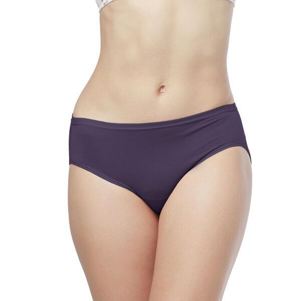 วาโก้ กางเกงใน บิกินี่ (Wacoal Value Pack Bikini Panty) รุ่น WU1M01,WQ6M01(WU1C34) set 5 ชิ้น สีม่วงออกน้ำเงิน (PU)