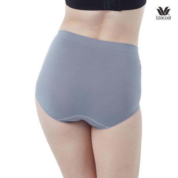 Wacoal Oh my nudes Half Panty Set 2 ชิ้น รุ่น WU3998 สีเทา (GY)