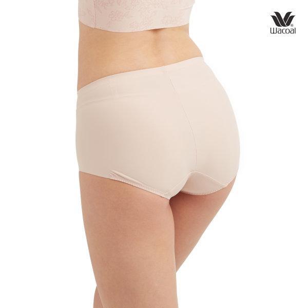 Wacoal V-Support Short Panty Set 2 ชิ้น รุ่น WU4873 สีเบจ (BE)
