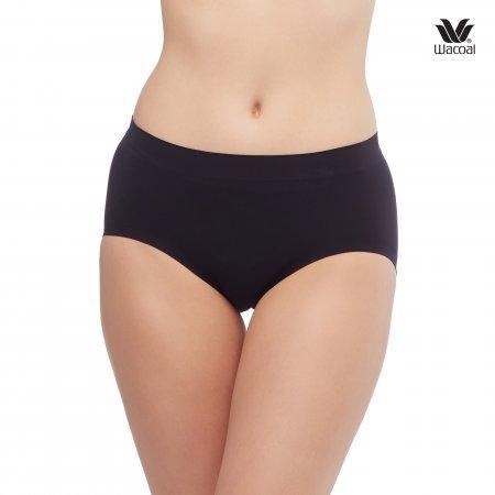 Wacoal Panty Oh my nude : Bikini รุ่น WU2906 Set 2 ชิ้น สีดำ (BL)