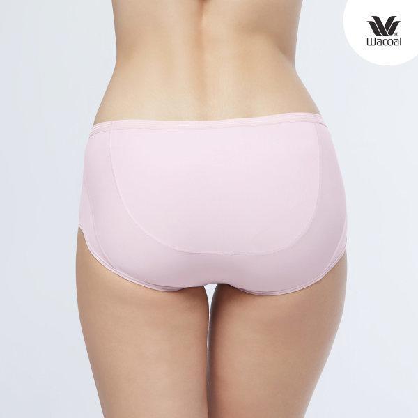 วาโก้ กางเกงในไม่เข้าวิน (Wacoal U-Fit Half Panty) Set 2 ชิ้น รุ่น WU3937 สีชมพูดอกคาร์เนชั่น (CP) รูปแบบ Half