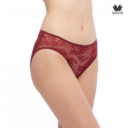 Wacoal Panty: Short Set 2 ชิ้น รุ่น WU1468 สีแดง (RE)