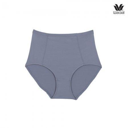 Wacoal Panty Set 3 ชิ้น รุ่น WU4836 สีน้ำเงิน-เทา-ชมพูอมส้ม (BU-GY-RO)