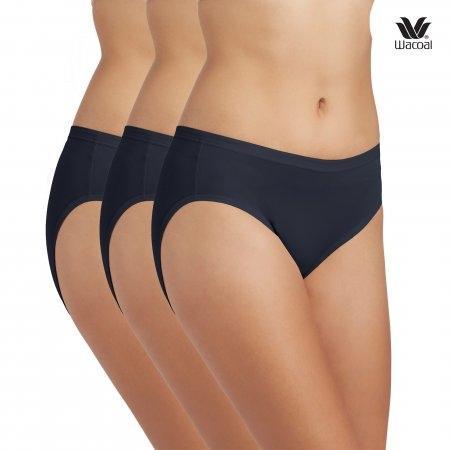 Wacoal Panty : Bikini รุ่น WU1M01 สีน้ำเงิน (BU)