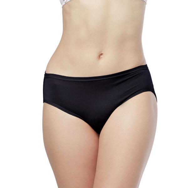 วาโก้ กางเกงใน บิกินี่ (Wacoal Value Pack Bikini Panty) รุ่น WU1M01,WQ6M01(WU1C34) set 5 ชิ้น สีดำ (BL)