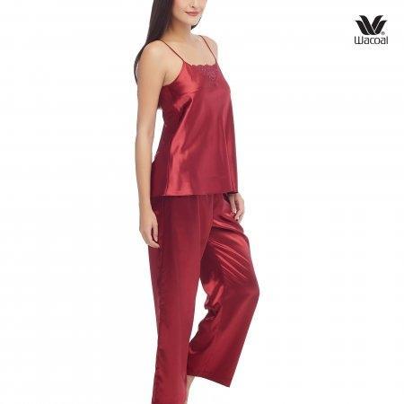 Wacoal Night wear รุ่น WN7C52 สีแดงเข้ม (DR)