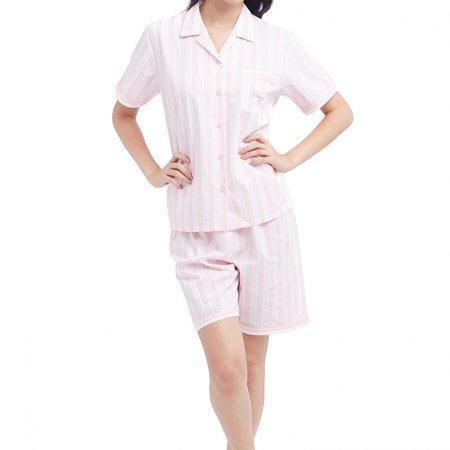 Wacoal Night wear รุ่น WV7M03 สีชมพูอมเทา (GO)