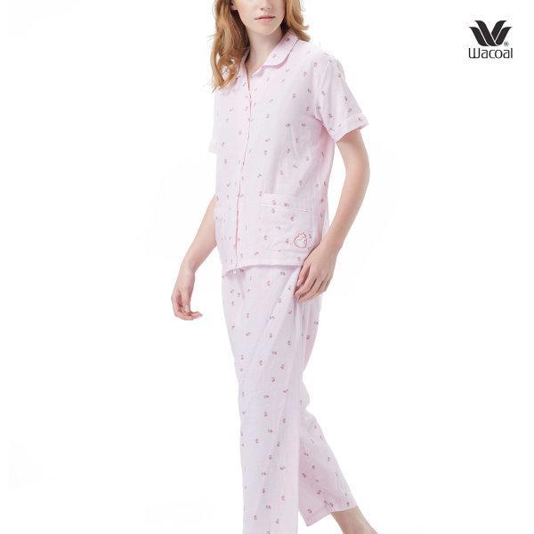 Wacoal Night Wear ชุดนอนวาโก้ รุ่น WN9M13 สีชมพู (PI)