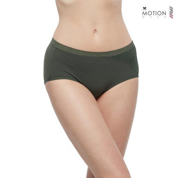 วาโก้ กางเกงในสำหรับออกกำลังกาย Wacoal Motion Wear รุ่น Athleisure WR6519 สีเขียว (GR)