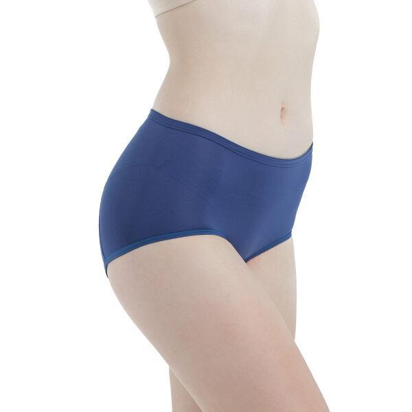 วาโก้ กางเกงในอนามัย ครึ่งตัว (Wacoal Hygieni Night Short Panty) รุ่น WU5041 Set 3 ชิ้น สีน้ำเงิน (BU)