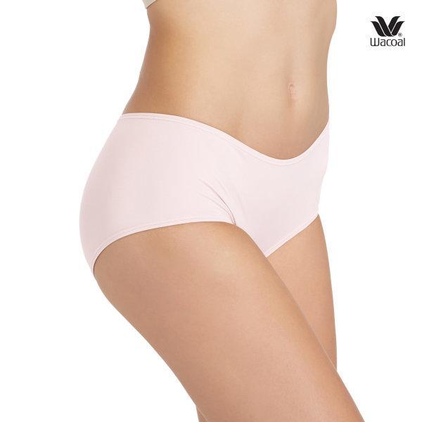 Wacoal Boyleg Low Rise V-Cut Panty Set 3 ชิ้น รุ่น WU8458 สีชมพู (PI)