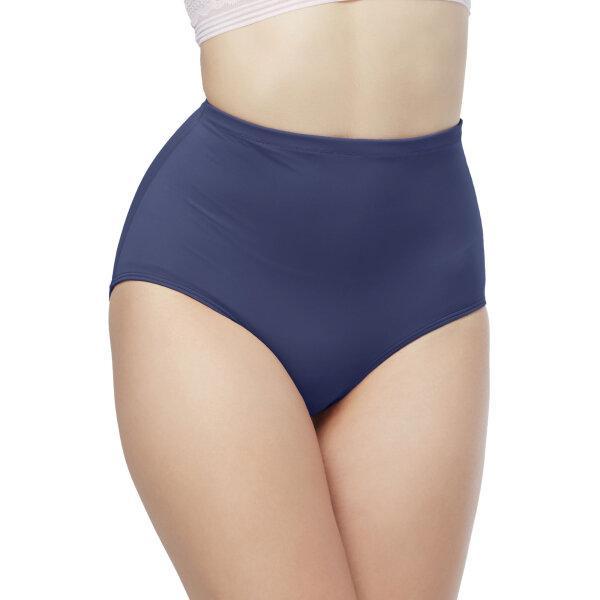 วาโก้ กางเกงในเก็บกระชับหน้าท้อง เอวสูง (Wacoal High Waist Panty) รุ่นWU4888 Set 3 ชิ้น สีเทาออกน้ำเงิน (NG)