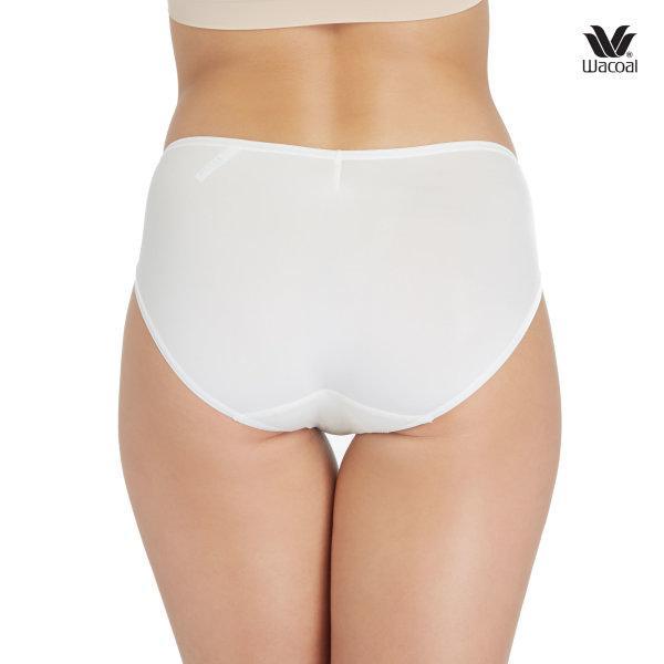 Wacoal Super Soft Basic Bikini Panty Set 3 ชิ้น รุ่น WU2811 สีครีม (CR)