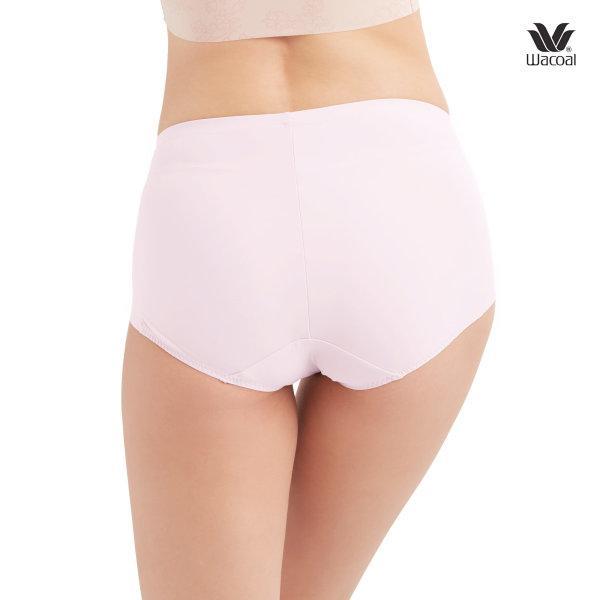 Wacoal V-Support Short Panty Set 2 ชิ้น รุ่น WU4873 สีชมพูดอกคาร์เนชั่น (CP)