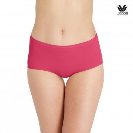 Wacoal U-Fit Short Panty Set 2 ชิ้น รุ่น สีชมพูออกแดง (RP)