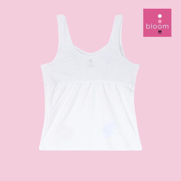 Wacoal Bloom Step 2 รุ่น WH6M65 เสื้อบังทรงกึ่งยกทรง แบบเรียบ สีขาว (WH)