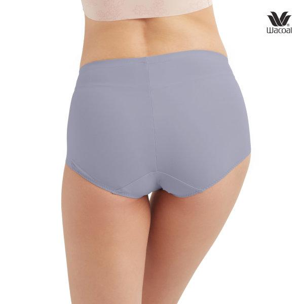 Wacoal V-Support Short Panty Set 2 ชิ้น รุ่น WU4873 สีเทา (GY)