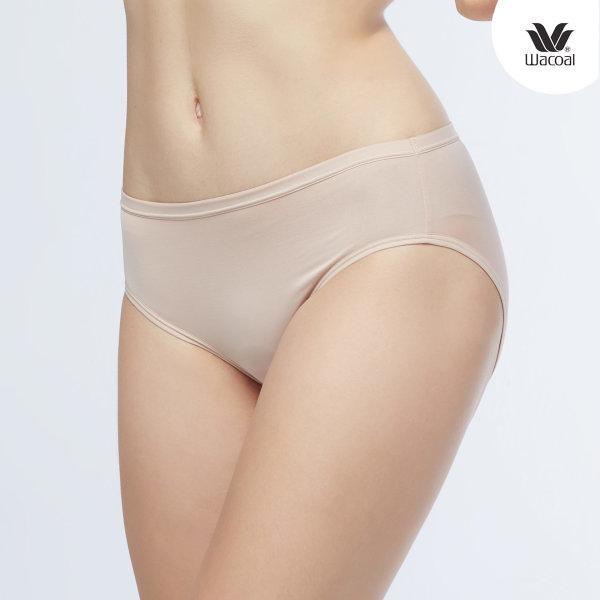Wacoal Bikini Panty Set 3 ชิ้น รุ่น WU1M01,WQ6M01 สีเบจ (BE)