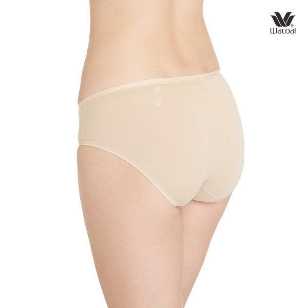 Micro modal Wacoal Panty Material Innovation : รุ่น Micro Modal WU1788 set 3 ชิ้น สีเนื้อ (NN) รูปแบบ Bikini