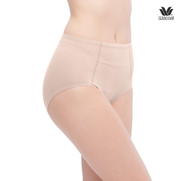 Wacoal Short Secret Support Panty Set 2 ชิ้น รุ่น WU4836 สีเบจ (BE)