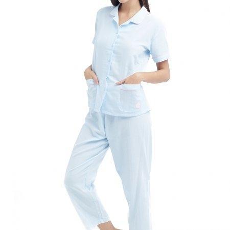 Wacoal Night wear รุ่น WN9M03 สีฟ้า (SX)