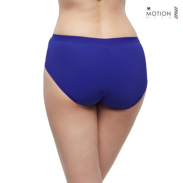 วาโก้ กางเกงในสำหรับออกกำลังกาย Wacoal Motion Wear รุ่น Athleisure WR6518 สีน้ำเงิน (BU)