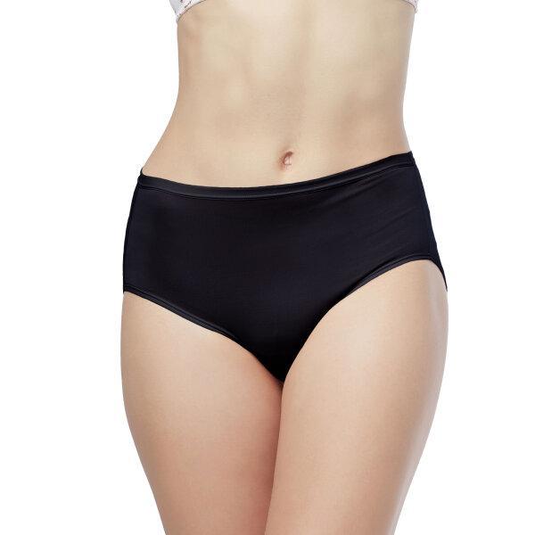 วาโก้ กางเกงใน เต็มตัว (Wacoal Value Pack Bikini Panty) รุ่น WU4M01(WU4C34) set 5 ชิ้น สีดำ (BL)