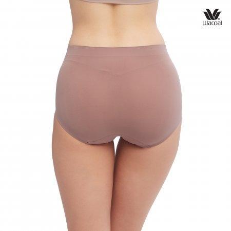 Wacoal Oh my nudes Half Panty Set 2 ชิ้น รุ่น WU3906 สีดำ (BL), สีน้ำตาลไหม้ (BT)