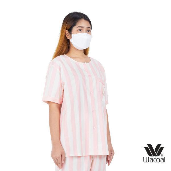 วาโก้ ชุดนอน (Wacoal Night Wear TEEBAZA Collection)  รุ่น WV7M14 สีชมพูอ่อน (SP)