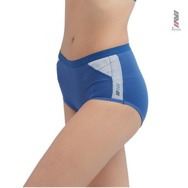 Wacoal Motion Wear Panty Boy Leg รุ่น WR6514 สีน้ำเงินเข้ม (NB)