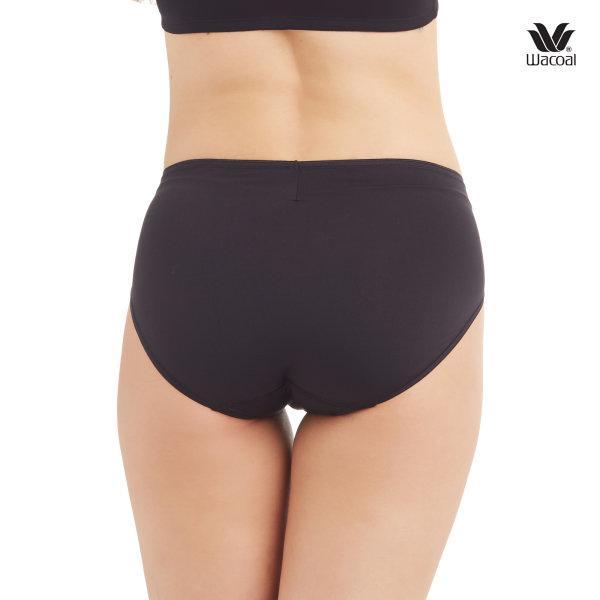 Wacoal Super Soft Half Panty Set 3 ชิ้น รุ่น WU3811 สีดำ (BL)