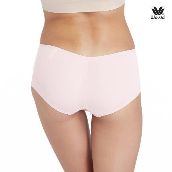 Wacoal Boyleg Low Rise V-Cut Panty Set 3 ชิ้น รุ่น WU8458 สีชมพูอ่อน (LP)