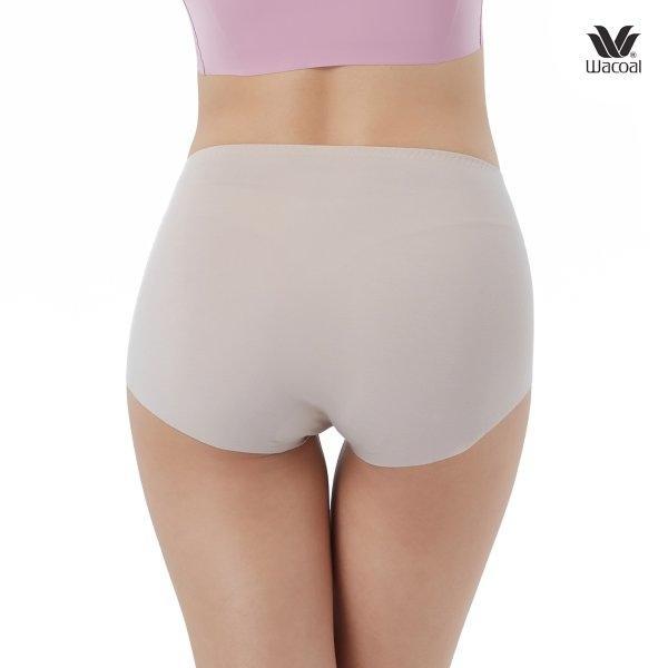 Wacoal Oh my nudes Short Panty Set 2 ชิ้น รุ่น WU4690 สีโอวัลติน (OT)