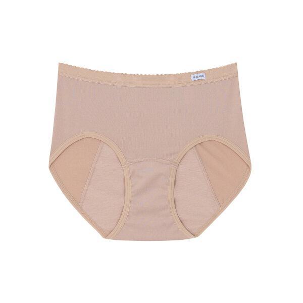 วาโก้ กางเกงในอนามัย ครึ่งตัว (Wacoal Hygieni Night Short Panty) รุ่น WU5E00 Set 5 ชิ้น สีเนื้อ (NN)