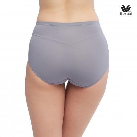Wacoal  Short Secret Support Panty Set 2 ชิ้น รุ่น WU4836 สีเทา (GY)