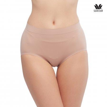 Wacoal Oh my nudes Half Panty Set 2 ชิ้น รุ่น WU3906 สีเบจ (BE)