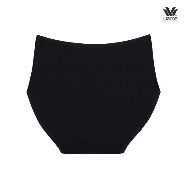 Wacoal Short Panty กางเกงในรูปแบบเต็มตัว เซ็ต 3 ชิ้น รุ่น WU4987 สีดำ (BL)