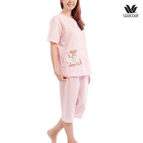 Wacoal Nightwear ชุดนอนวาโก้ รุ่น WV2L81 สีชมพู (PI)