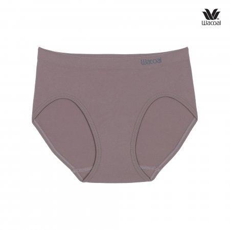 Wacoal Oh my nudes Bikini Panty Set 2 ชิ้น รุ่น WU1507 สีชมพูอมเทา (GO)