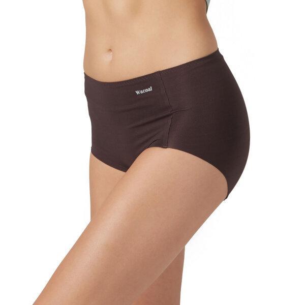 วาโก้ กางเกงในไร้ขอบ เต็มตัว (Wacoal Oh my nude Short Panty) รุ่นWU4199 Set 3 ชิ้น สีน้ำตาล (BR)