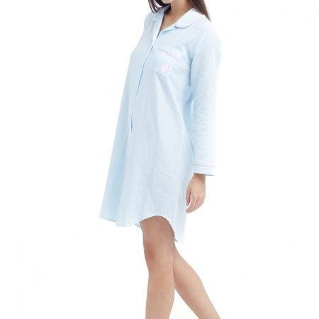 Wacoal Night wear รุ่น WN8M01 สีฟ้า (SX)