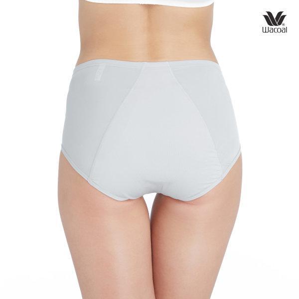 Wacoal Hygieni Night Short Panty Set 2 ชิ้น รุ่น WU5041 สีเทา (GY)