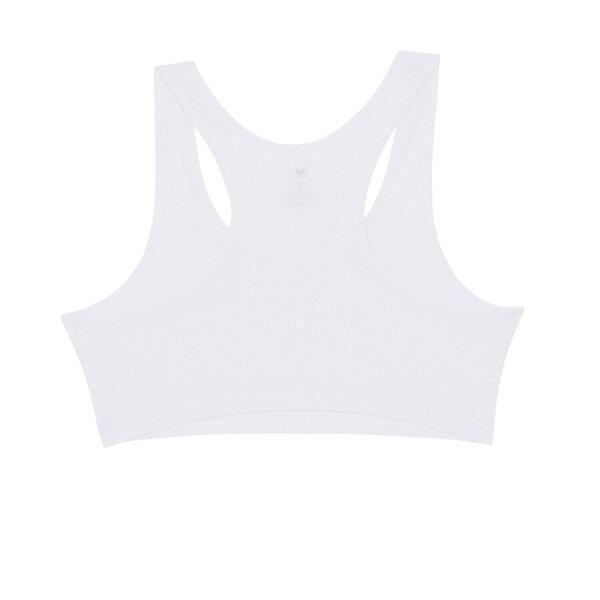 วาโก้ บราสำหรับเด็ก (Wacoal Bloom) Step 1 รุ่น WH6K14 เสื้อทับครึ่งตัว สีขาว (WH)