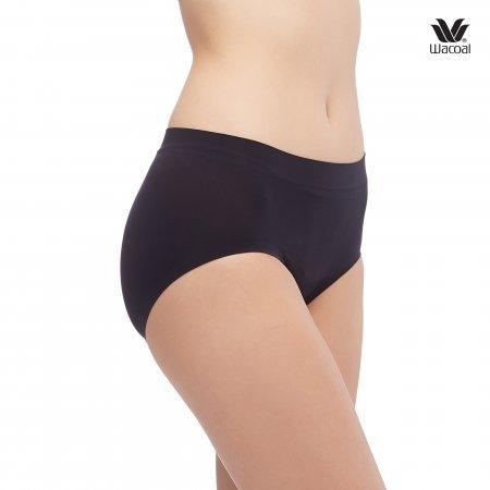Wacoal Panty Oh my nude : Bikini รุ่น WU2906 Set 2 ชิ้น สีดำ (BL),สีเนื้อ (NN)