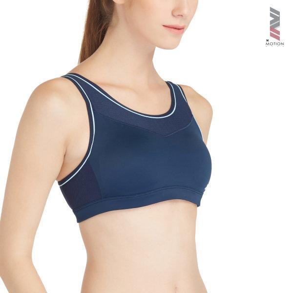 วาโก้ บราสำหรับออกกำลังกาย Wacoal Motion Wear รุ่น WR1501 สีน้ำเงิน (BU)