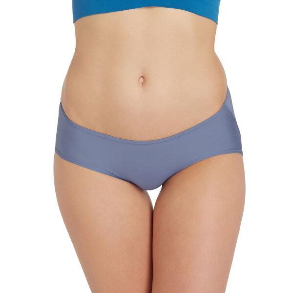 วาโก้ กางเกงในไม่เข้าวิน (Wacoal U-Fit Bikini Panty)  รุ่น WU2986 Set 3 ชิ้น สีเทาออกน้ำเงิน (NG)