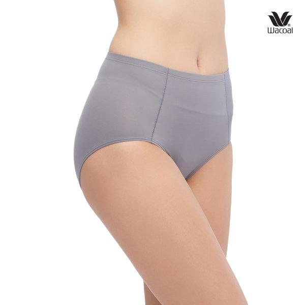 Wacoal Short Secret Support Panty Set 3 ชิ้น รุ่น WU4836,WU4C25 สีเทา-ม่วง-แดง (GY-PU-RE)