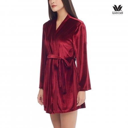 Wacoal Nightwear รุ่น WN6I23 สีแดงเข้ม (DR)