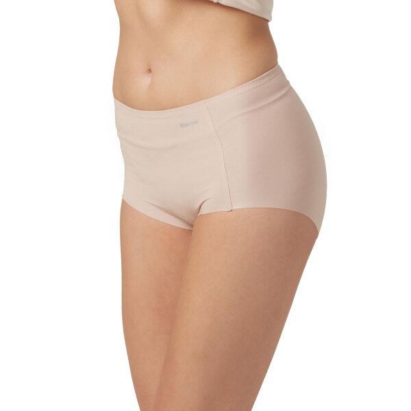 วาโก้ กางเกงในไร้ขอบ เต็มตัว (Wacoal Oh my nude Short Panty) รุ่นWU4199 Set 3 ชิ้น สีเบจ (BE)